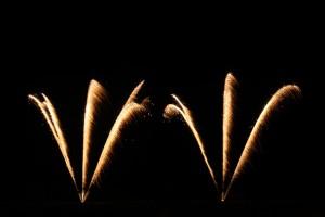 Bild von Feuerwerkskometen