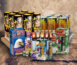 Amerikansiches Feuerwerk jetzt für Deutschland mit mehr als 50mm Kaliber