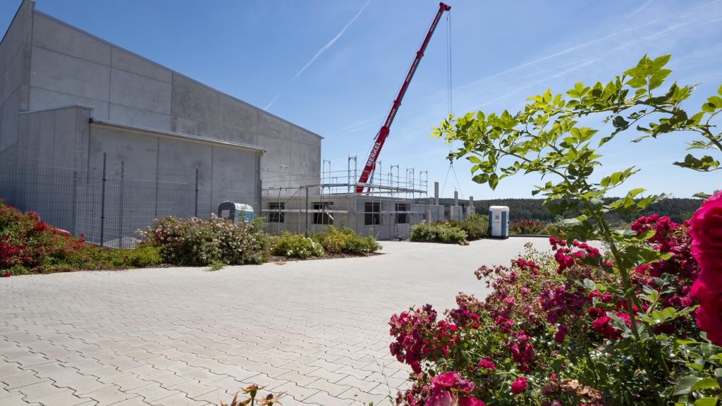 Foto der Baustelle bei Röder Feuerwerk3